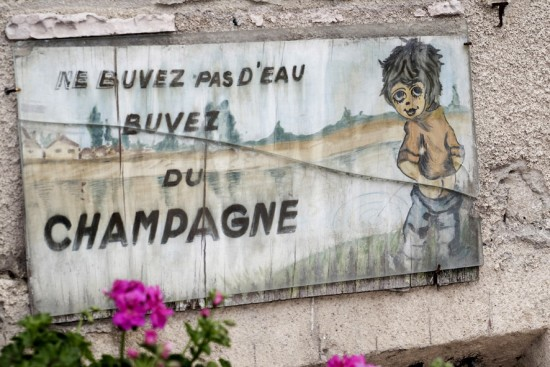 Immagine sullo Champagne ripresa nel villaggio di Hautvillers