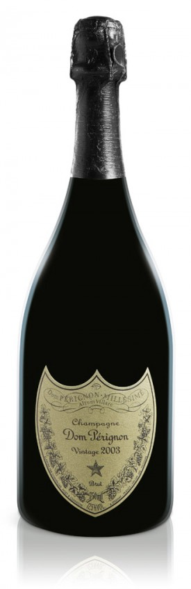 Bottiglia di Dom Pérignon Vintage 2003