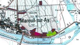 mappa del Clos des Goisses