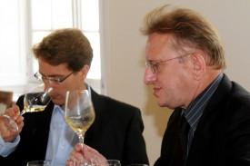 foto di Richard Geoffroy con Vincent Chaperon, il suo braccio destro