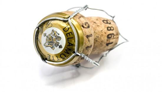 Tappo di champagne Delamotte del Blanc de blancs millesimato