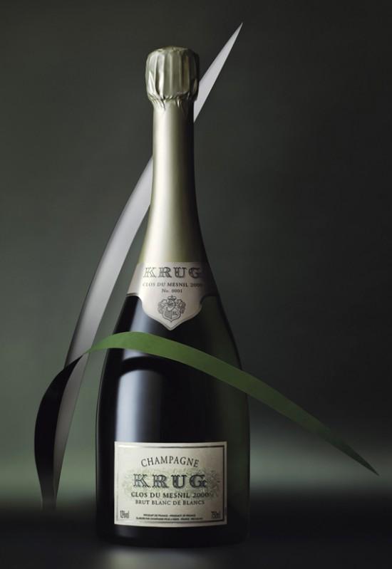 Bottiglie di Krug Clos de Mesnil 2000