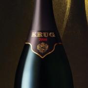 Bottiglia di Champagne Krug Brut 2000
