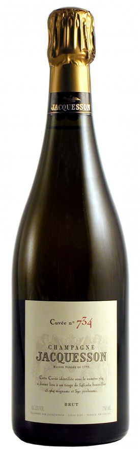 champagne jacquesson 734