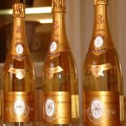 Tre bottiglie champagne Cristal Louis Roederer