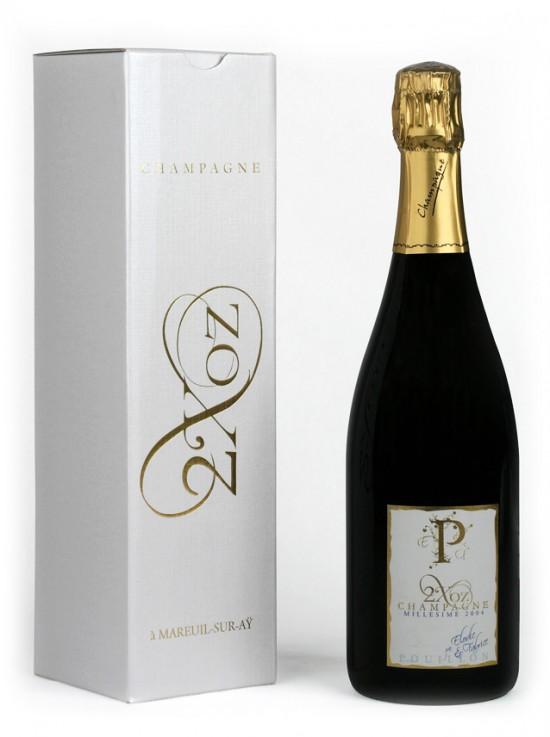 champagne 2Xoz del 2004, prodotto con il méthode ancestrale
