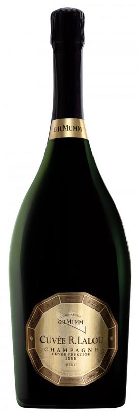 Mumm R.Lalou 1999, è la seconda annata per quanto riguarda il formato bottiglia