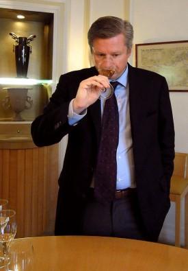 Foto di Jean-Baptiste Lécaillon, chef de cave e direttore della Louis Roederer