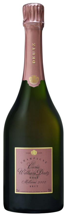 bottiglia champagne deutz Cuvée William Deutz Rosé 2002