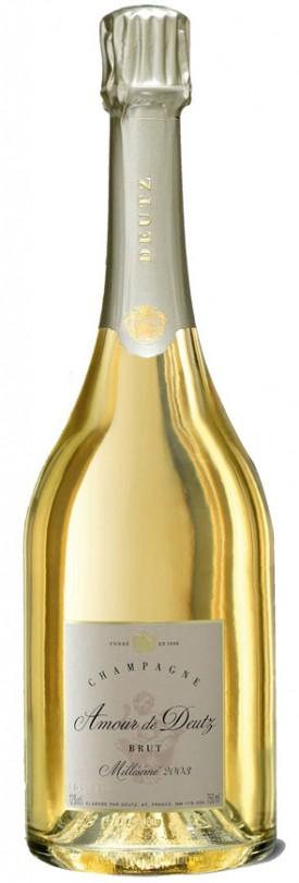Bottiglia di Champagne Deutz Amour annata 2003