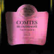 Champagne Comtes de Champagne Rosé 2005