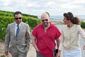 un'immagine durante una visita in champagne
