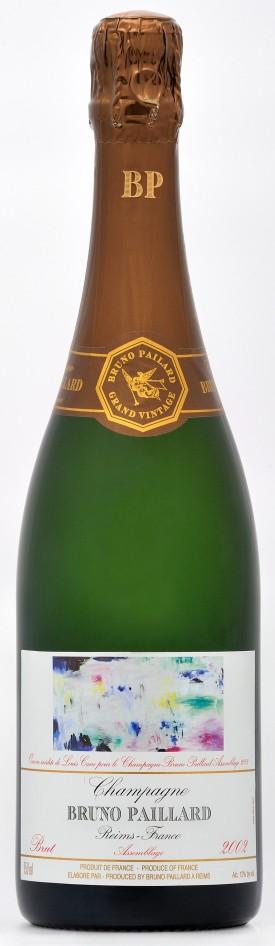 bottiglia champagne Bruno Paillard 2002