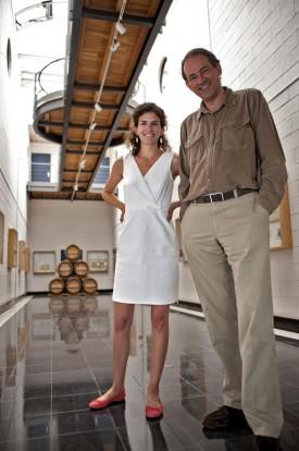 foto di Bruno Paillard e sua figlia Alice