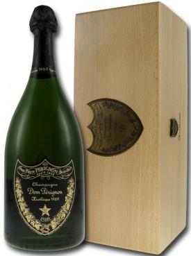 bottiglia di champagne Œnothèque Commande Spéciale in cassa di legno