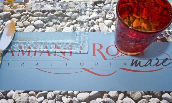 Locandina del ristorante damiani e Rossi Mare