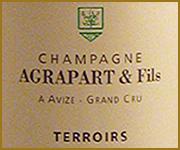 etichetta champagne champagne agrapart