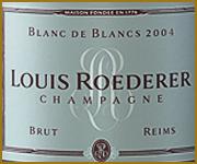 etichetta champagne luis roederer