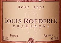 etichetta louis reoderer rosé