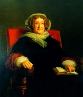 quadro di Barbe Nicole Ponsardin, meglio nota come madame Clicquot