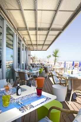 il ristorante di Aurelio Damiani di trova sul mare