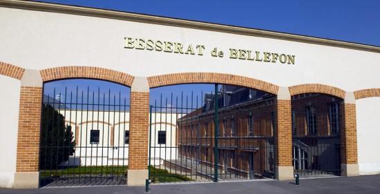 sede della maison a Epernay di Besserat de Bellefon