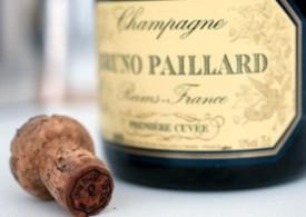 bottiglia di Brut Première Cuvée primo champagne di bruno paillard