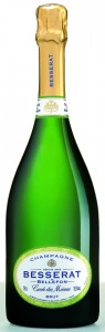 bottiglia di brut Besserat de Bellefon