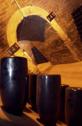 foto delle cantine sottorranee thienot