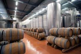 Il locale di fermentazione dello champagne paillard