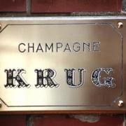 targa champagne Krug