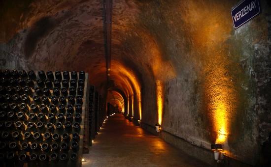 maturazione sui lieviti dello champagne Cordon Rouge