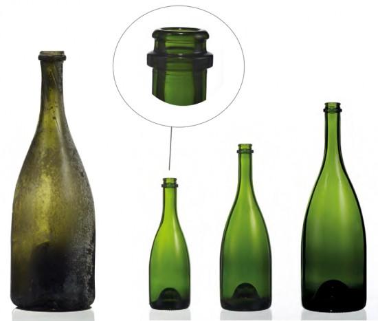Nuova bottiglia che si rifà a quella storica del 1846