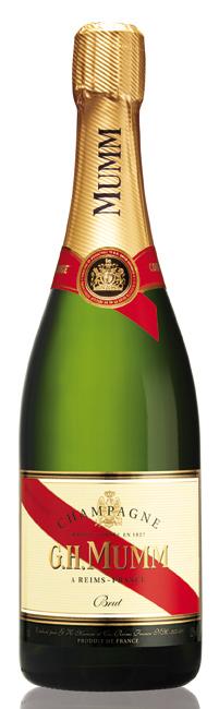 bottiglia di champagne Cordon Rouge