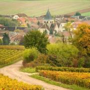 foto di villaggio nella champagne