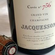 bottiglia di champagne Jacqesson cuvée 736