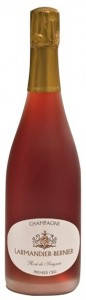 bottiglia di champagne larmandier rosé