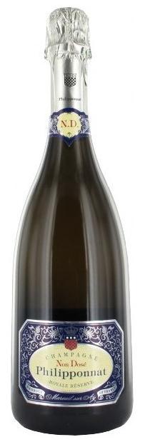 bottiglia di champagne philipponnat
