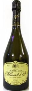 bottiglia di champagne vilmart