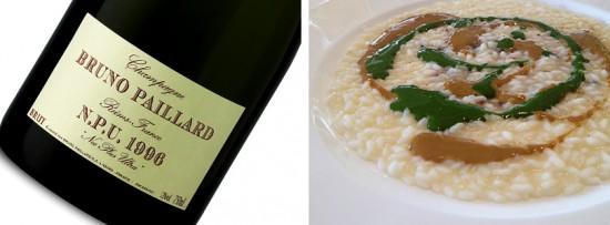 champagne bruno paillard npu 1996 consiglio abbinamento