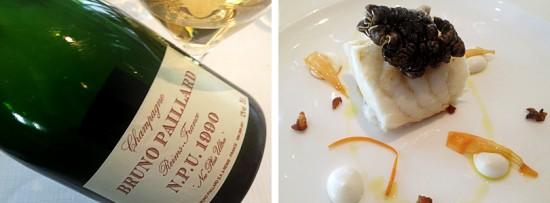 abbinamento champagne bruno paillard npu 1990