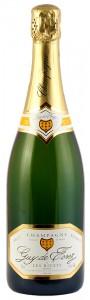 bottiglia di champagne Guy De Forez Reserve a men di 40 euro
