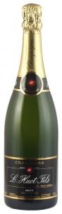 champagne a 30 euro, L. Huot & Fils Carte Noir