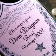 champagne Dom Pérignon Rosé 2002