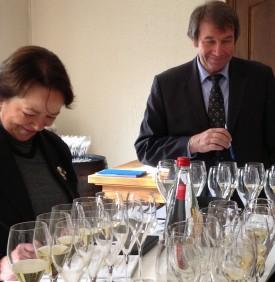 Nicole Snozzi, responsabile delle relazioni esterne Laurent-Perrier