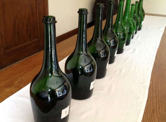 champagne verticale laurent-perrier