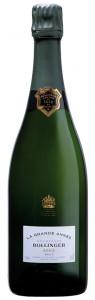 bottiglia champagne bollinger
