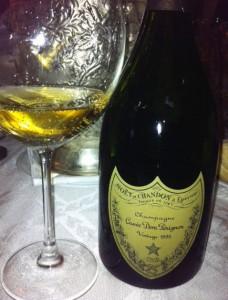 bottiglia champagne dom pérignon