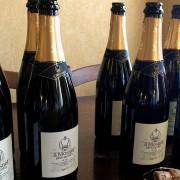 bottiglie di champagne il mosnel