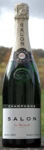 bottiglia di champagne Salon 1973